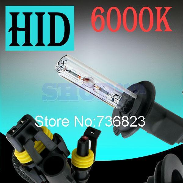 H7 HID Xenon Pure White Replacement 6000K 35W Car Headlight Headlamp Bulb Lamp