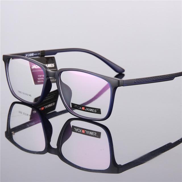 Mens moda retro gran marco TR90 marco de anteojos recetados gafas marcos para las mujeres óptico frames198