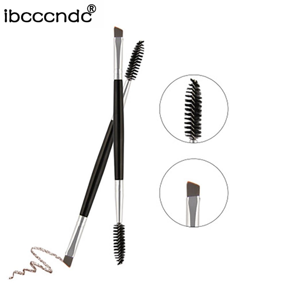 Professional Dual Sided Makeup Eyebrow Brush Eyebrow Comb makeup brushes beauty