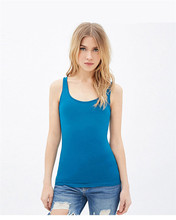 M&DE Sexy Women Tank Top Basic Sling Simple Sleeveless Rose Red Blue Vest Ladies O-neck Summer Camis Chic Clothes