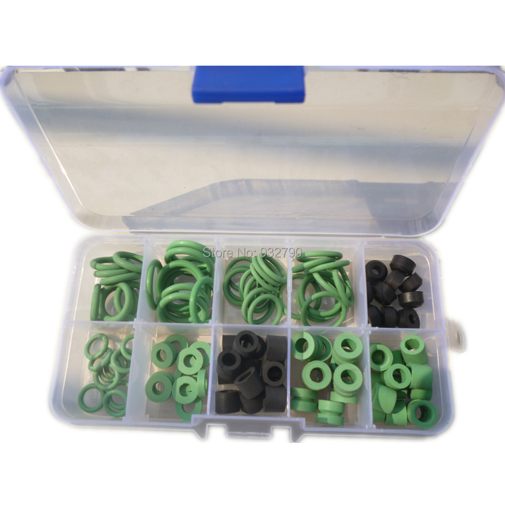 A Box Of Car Air Condition Automotive A C O Rings 10 Sizes