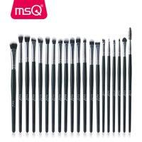 MSQ 20pcs Set Professional Eye Shadow Foundation Eyebrow Lip Brush Makeup Brushes Cosmetic Tool Blending Make