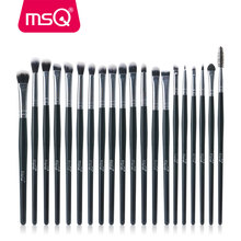 MSQ 20pcs/Set Professional Eye Shadow Foundation Eyebrow Lip Brush Makeup Brushes Cosmetic Tool Blending Make Up Eye Brushes Set