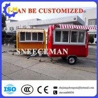 Индивидуальный дизайн мобильного хот дог торговый корзину приготовления пищи Трейлер с хорошим качеством китайской открытый киоск питани