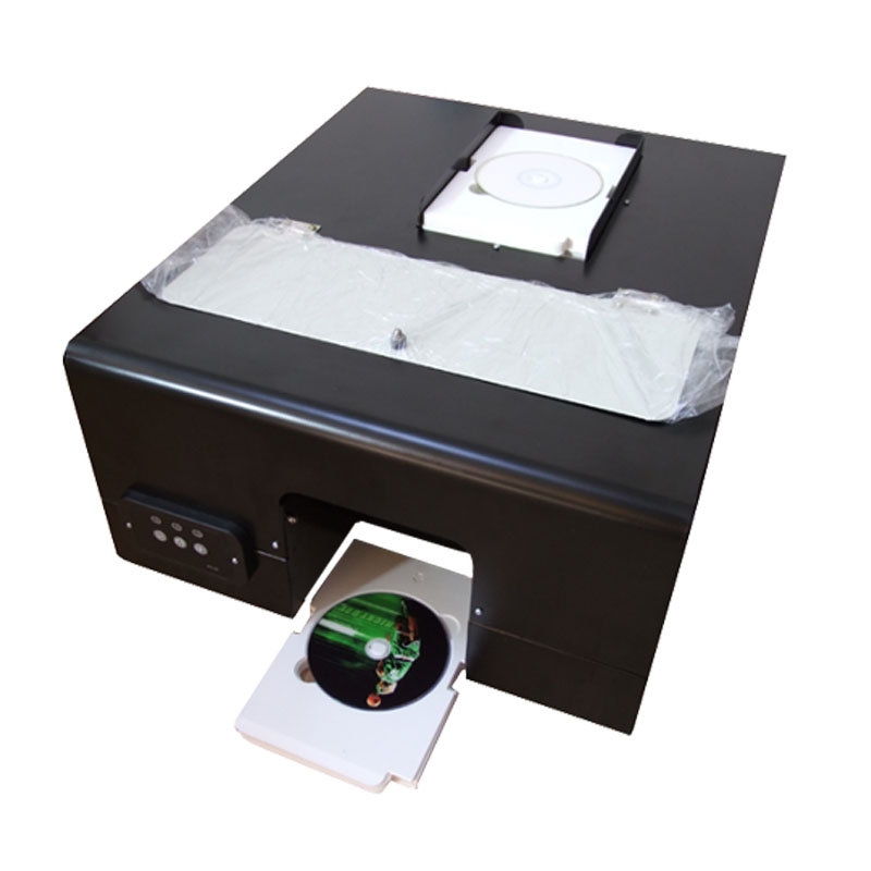 2018 new design CD printer for Epson 330 with 60pcs CD/PVC tray free to print cd dvd disc on hot sales