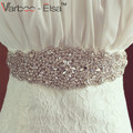 Free Shipping Belt Bride High Quality Cintura Sposa Handmade Dazzling Crystal Rhinestone Belts For Wedding Dresses Bridal Sash