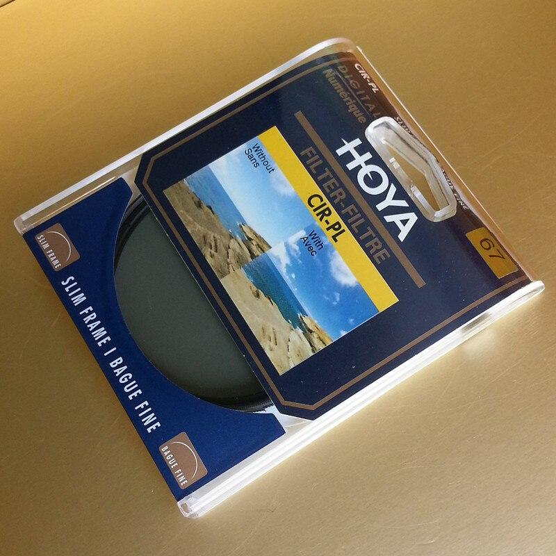 Поляризационный фильтр Hoya CPL/CIR-PL, поляризатор для объектива камеры, круглый 58/62/67/72/77/82 мм, тонкий 46/49/52/55 мм