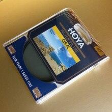 Hoya CPL filtre 58mm 62mm 67mm 72mm 77mm 82mm dairesel polarize 46mm 49mm 52mm 55mm CIR PL ince polarize kamera Lens için