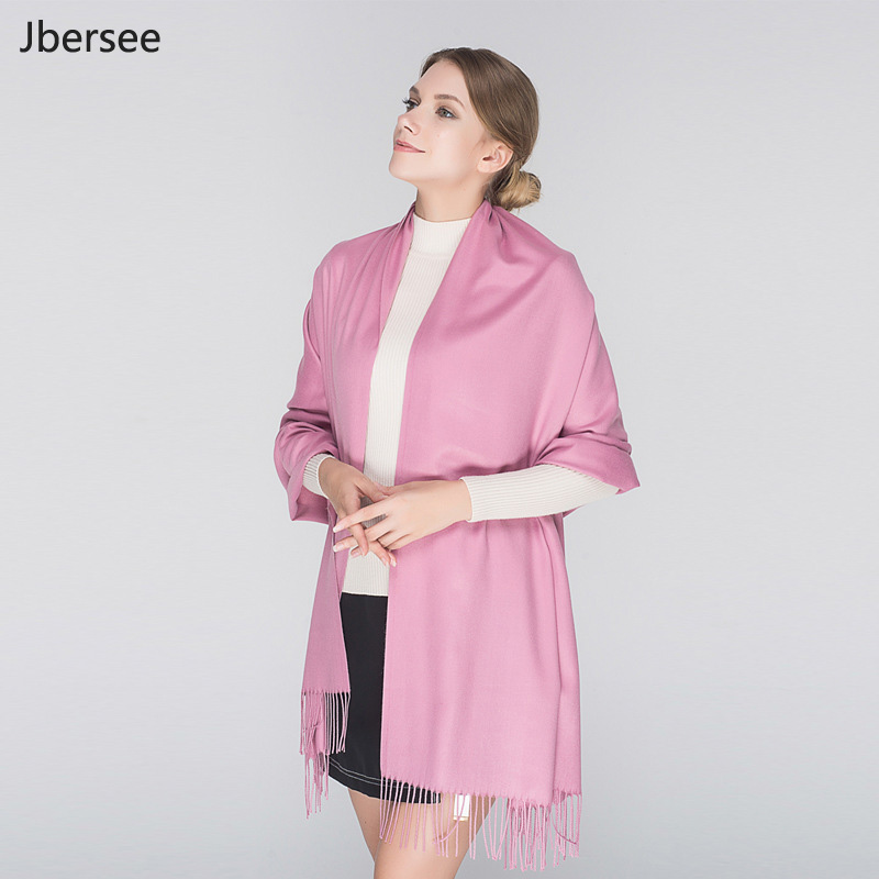 High Quality Women Cashmere Scarf Luxury Brand Winter Scarves Thick Warm Ladies Tassel Scarf Women Poncho Shawl Foulard Femme