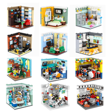hot deal buy xingbao 01401 02 genuine building blocks the living house set building bricks educational toys compatible with logo blocks toys