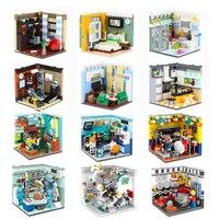 XINGBAO 01401/02 Véritable blocs de construction Le Vivant ensemble de maison briques de construction jouets éducatifs compatible avec LOGO blocs jouets