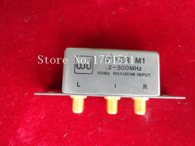 [BELLA] M/A-COM / WJ M1 0.2-500MHz SMA RF Coaxial Double Balanced Mixer