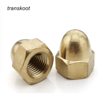 100pcs 50pcs DIN1587 Acorn Nuts m3 m4 m5 m6 m8 m10 to m22 Copper Bronze Brass Cap Nut Acorn Dome Head Hex Nuts