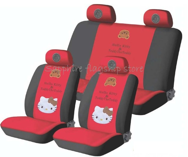 Hello Kitty Kt Cat Car Seat Cover Classic Design