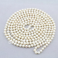 Free Shipping! Popular 6 7MM White Freshwater Pearls Necklace 90 Length Wedding Jewelry Wholesale FP240