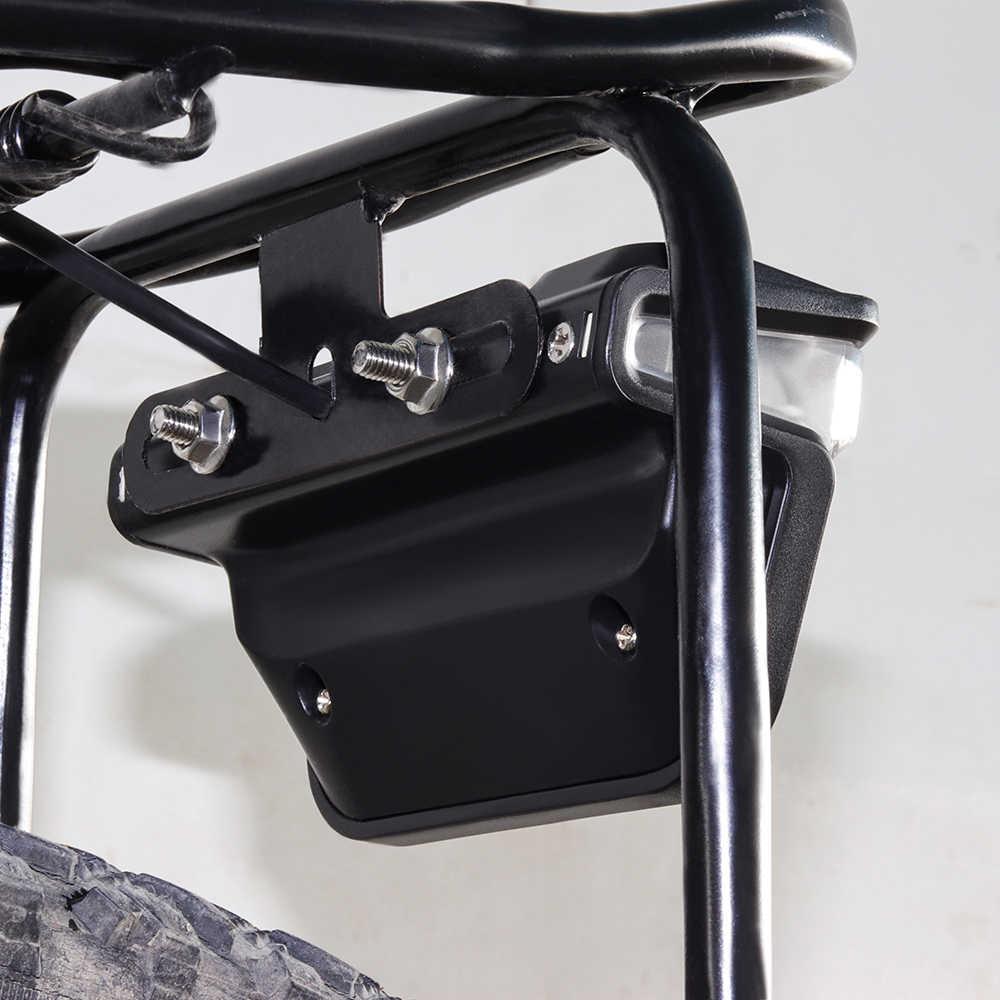 Onature vélo électrique lumière pour Ebike feu arrière DC 6V 12V 24V 36V 48V 60V vélo e-bike arrière feu arrière vélo accessoires