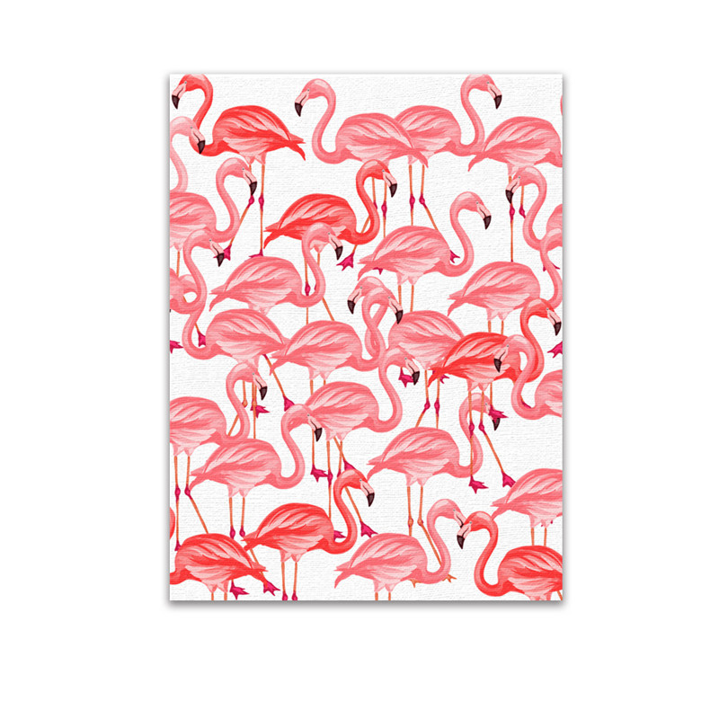 2017 New Flamingo Pink Painted Paintings Moylor Hanging Paintings Living Room Furniture Office Furniture Decoration Painting G $
