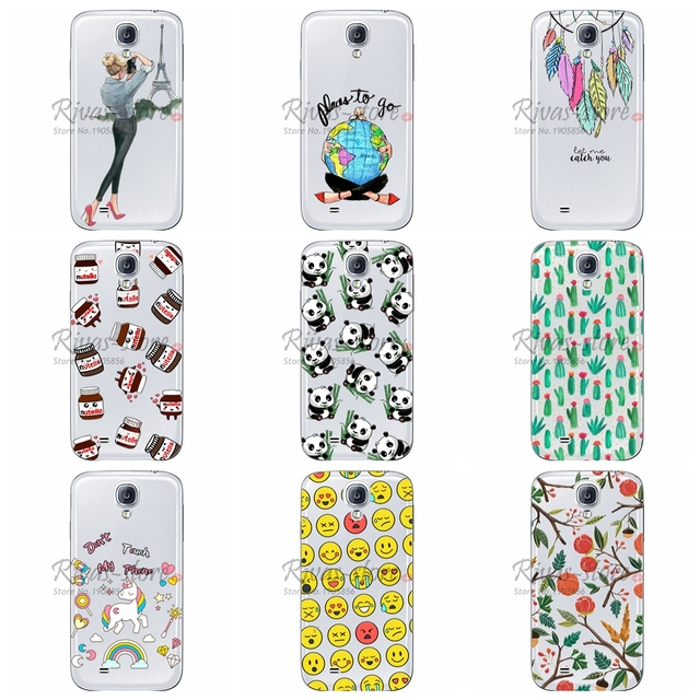competitive price 55560 763ba US $0.8 24% OFF|Case For Samsung Galaxy S4 S4 Mini i9500 i9190 Soft TPU  Mobile Phone Case Fundas For Samsung Galaxy S4 Cases Silicone Back Cover-in  ...
