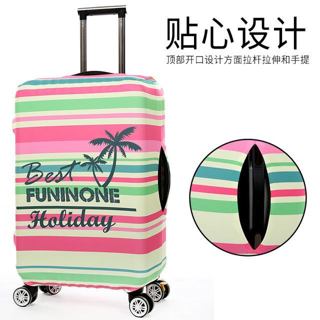Design Style Cover for Suitcase Bags Travel Luggage Accessories for Men's Women Protection Suitcase Case Cove Luggage Covers