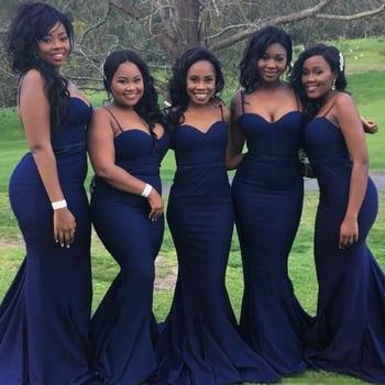 royal blue bridesmaid dresses cheap price sweetheart mermaid wedding guest dresses