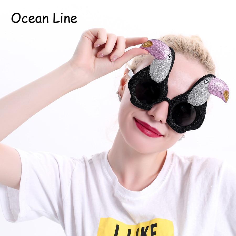 재미 있은 Ramphastos Toco 새 의상 안경 사진 부스 소품 열대 멋진 복장 선물 축제 축제 파티 용품 장식