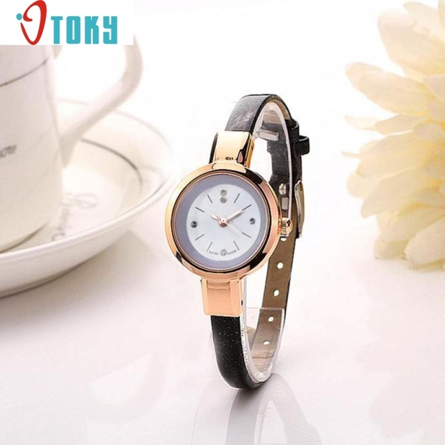 Hot hothot Sales Women Fashion 1PC Lady Round Quartz Analog Bracelet Watch Gift