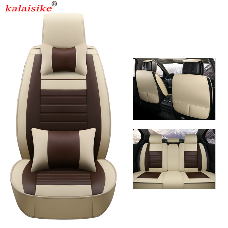 Kalaisike кожа Универсальный Авто Чехлы для Isuzu все модели D MAX Му X 5 мест автомобилей укладки автомобильные аксессуары