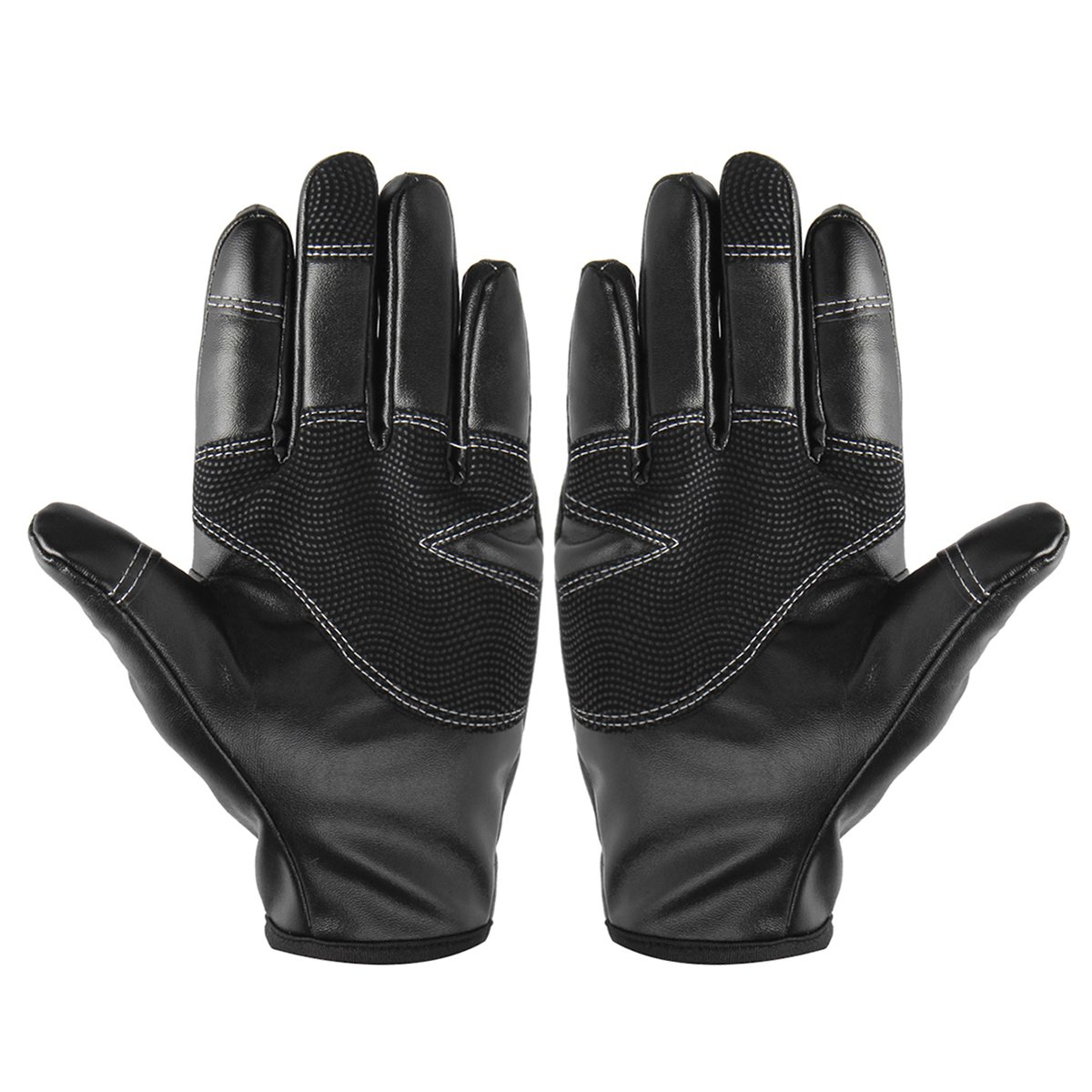 1 pair of Black gloves 3 Size Windproof and waterproof Suitable for skiing cycling