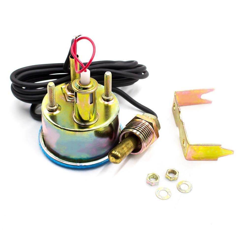 2 inch 52mm 12 V DC Listrik Mekanik Mobil Suhu Air Gauge Water Temp - Suku cadang mobil - Foto 2