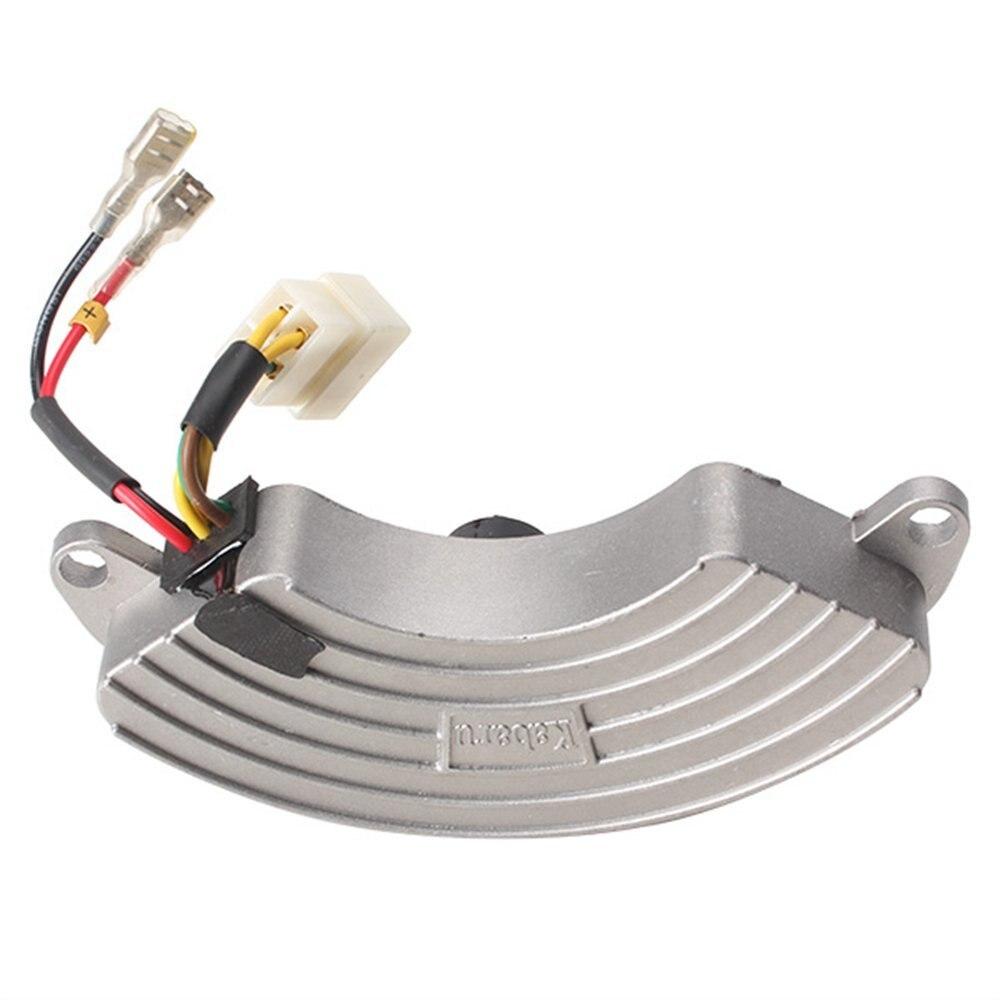 Shockproof 5KW Automatic Voltage Regulator Petrol Generator Excitation AVR 5kw single phase automatic voltage regulator aluminum shell petrol generator excitation avr