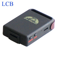 Free Shipping Wholesale 4 Bands Mini TK102 GPS GPRS Mini GPS Tracker For Cars Pets Kids