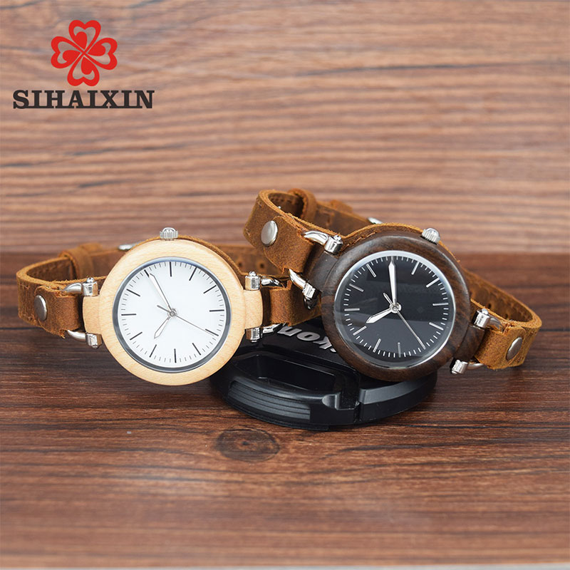 sihaixin-women-Unique Handmade leather-wood-watches-B88-7