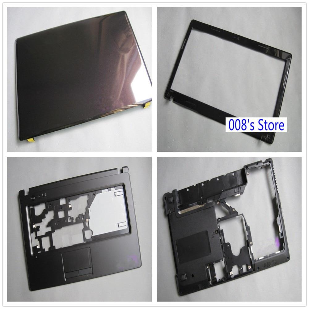 NEW With HDMI Laptop Back/Bezel/Plamrest/Bottom Case Cover Base For Lenovo Ideapad G470 G475 G470D G470AX G475AX AP0GL000800