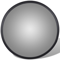 30cm Wide Angle Curved Convex Security Road Mirror For Indoor Burglar Traffic Signal Roadway Safety Acrylic