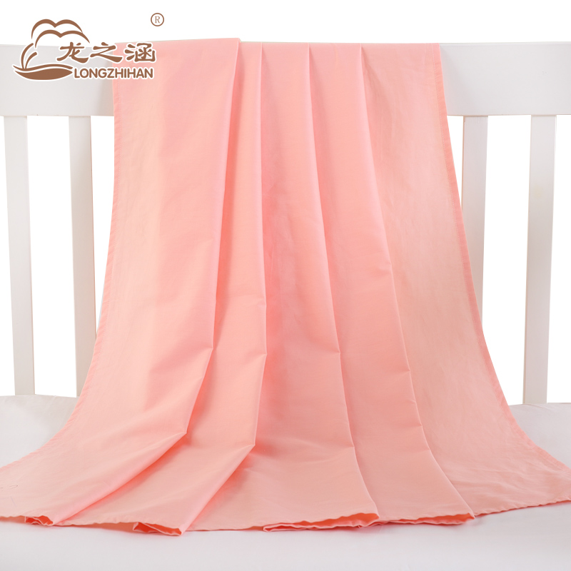 Baby Bed Sheets 100% Cotton Crib Sheets Muslin Solid Color Newborn ...