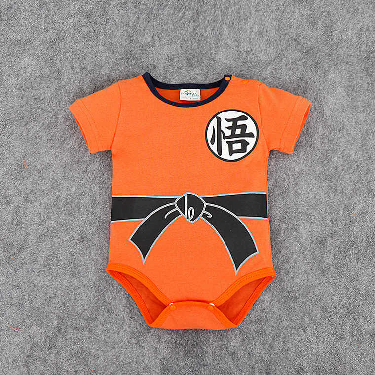 Novelty Chinese Style New Baby Boy Bodysuits Overalls Clothes Hot Summer Short Sleeve Jumpsuit Chinese Kungfu Character Costume