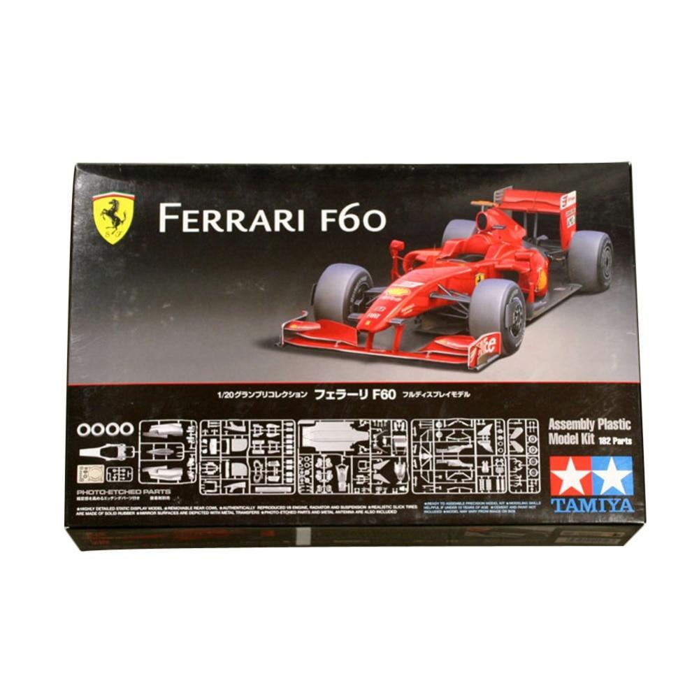 OHS Tamiya 20059 1/20 F60 F1 Racing Car Scale Assembly Car Model Building Kits tamiya f 84 72 москва