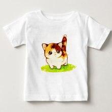 Футболка для девочек детские футболки с коротким рукавом одежда