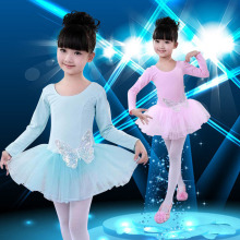 Kanak-kanak Kanak-kanak Cotton Sequin Butterfly Professional Ballet Tutu Gimnastik Leotard Girl Dance Costume Vest Baby Tutu Dress