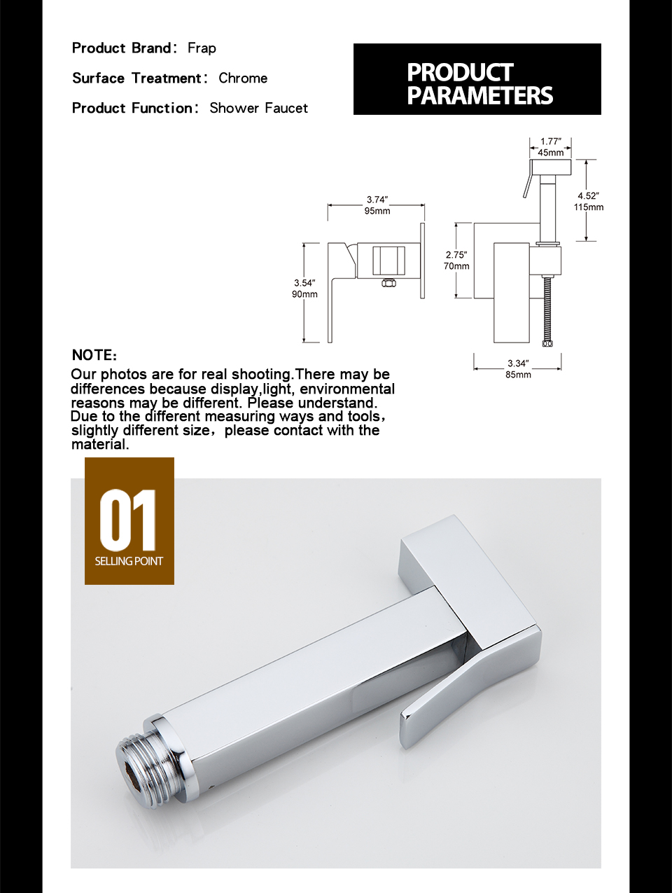 HTB1shCFlIIrBKNjSZK9q6ygoVXam FRAP Chrome Brass Bidets Bathroom Toilet Sprayer Muslim Shower Bidet Tap Hygienic Shower Wall Mount Shattafs Faucets F7506