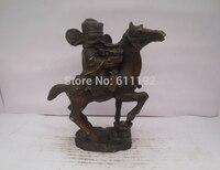 Chinesische volkskunst Startseite FengShui dekoration Pferd Schwein skulptur  Glück tier statue metall handwerk-in Statuen & Skulpturen aus Heim und Garten bei