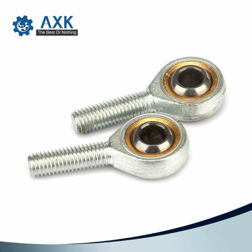 2pcs SA6T//K POSA6 6mm Right Hand Male Outer Thread Metric Rod end Joint Bearing