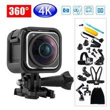 BOBLOV X361 Mini 4K DVR 360 degree Panoramic HD Camara Wifi Sport Action Camera 16MP Waterproof For IOS Android+ 18pcs Kits