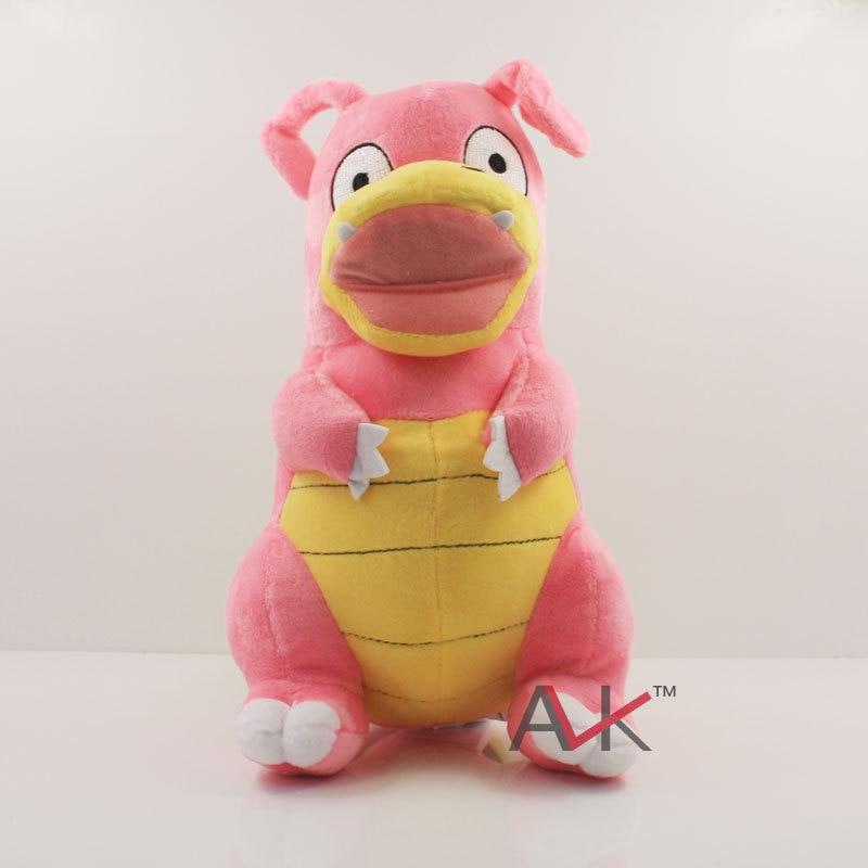 26Cm Pokemon Slowpoke Evolution Slowbro Stuffed Animal Plush Doll Toys Kids Bitthday Christmas Gift
