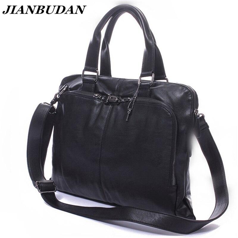 do homensageiro dos homens bolsas Marca : Jianbudan