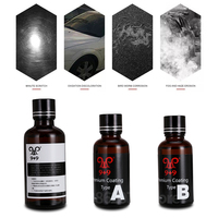 Perfect performance three bottle King Ceramic Coating car paint care for Vehicle