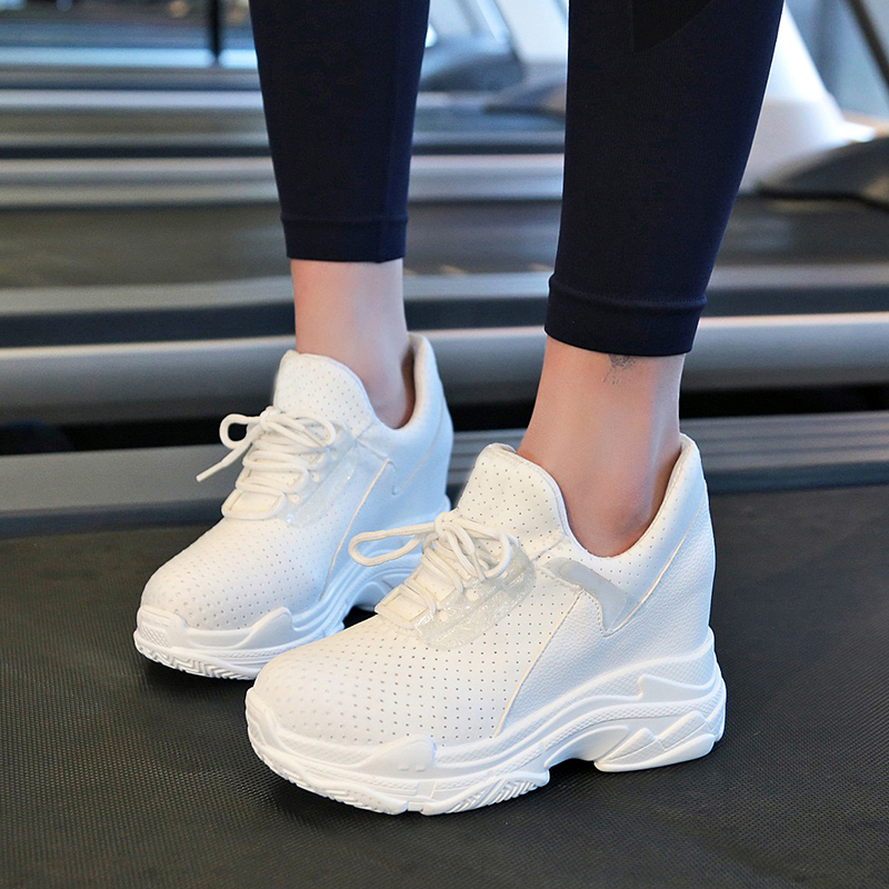 Brand 2018 Spring Women New sneakers Autumn Soft Comfortable Casual Shoes Fashion Lady Female shoes Black White Red 35-39