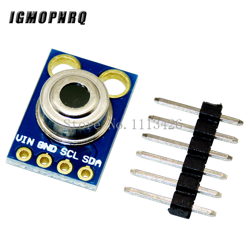 GY-906 MLX90614ESF New MLX90614 Contactless Temperature Sensor ModuleGY-906 MLX90614ESF New MLX90614 Contactless Temperature Sensor Module