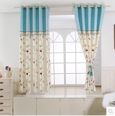 Beautiful 1PC 2 Color Short Curtain Half Shade Curtains For The Bedroom Fancy  Children Modern Curtains For