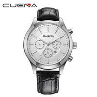 Men Quartz Watch Men Casual Business Quartz Wristwatches Checkers Faux Leather Quartz Analog Wrist Watch High